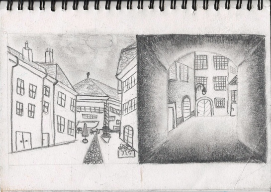 Drawing 1_townscape_Morges_2