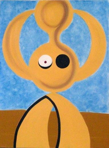 2003  Coll. Féminine - Rondeur de femme huile sur toile 60x80