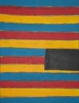 2009 Coll. Abstrait - Fenêtre sur mer acryl sur toile 60x80