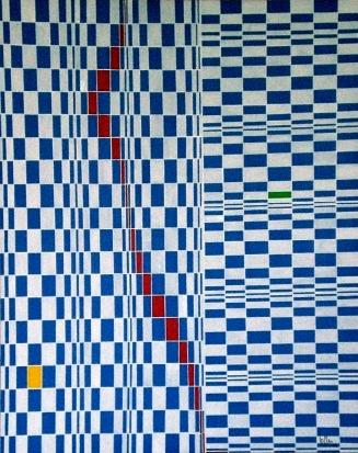 2009 Coll. Abstrait - Vague à l'Ame acryl sur toile 80x100