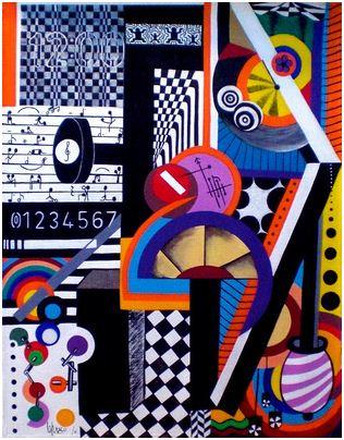 2011 - Love on the beats-Acryl - 63x50