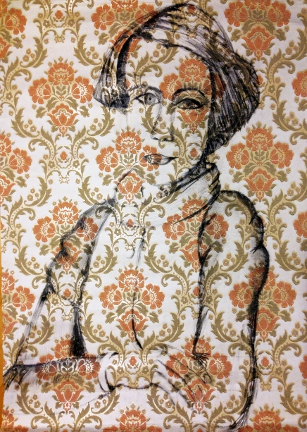 2013_dessin sur tapisserie